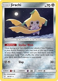Jirachi, Pokemon, SM - Team Up