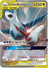 Latias & Latios GX, Pokemon, SM - Team Up