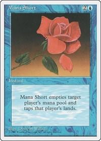 Mana Short, Magic: The Gathering, Fourth Edition