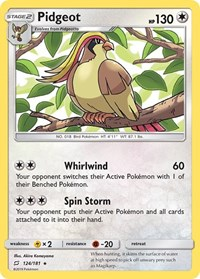 Pidgeot, Pokemon, SM - Team Up