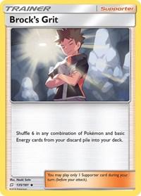 Brock's Grit, Pokemon, SM - Team Up