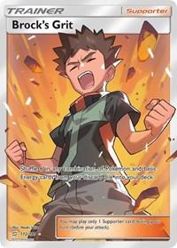 Brock's Grit (Full Art), Pokemon, SM - Team Up