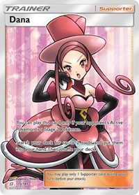Dana (Full Art), Pokemon, SM - Team Up