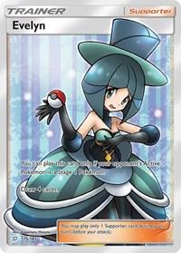 Evelyn (Full Art), Pokemon, SM - Team Up