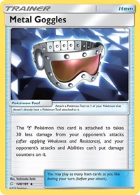 Metal Goggles, Pokemon, SM - Team Up
