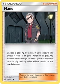 Nanu, Pokemon, SM - Team Up