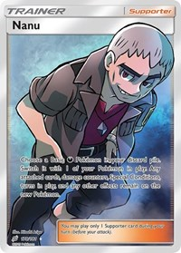 Nanu (Full Art), Pokemon, SM - Team Up