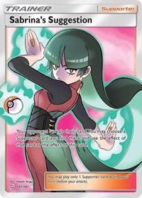 Sabrina's Suggestion (Full Art), Pokemon, SM - Team Up