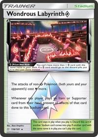 Wondrous Labyrinth Prism Star, Pokemon, SM - Team Up