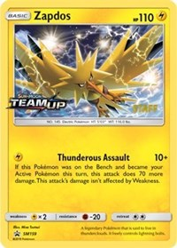 Zapdos - SM159 [Staff], Pokemon, SM Promos