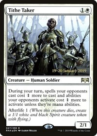 Tithe Taker, Magic: The Gathering, Prerelease Cards