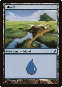 Island (286), Magic: The Gathering, Lorwyn