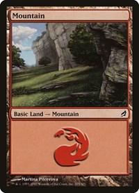 Mountain (295), Magic: The Gathering, Lorwyn