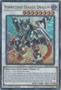 Borreload Savage Dragon, YuGiOh, Savage Strike