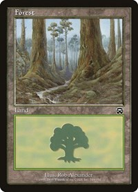 Forest (349), Magic: The Gathering, Mercadian Masques