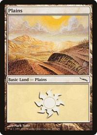 Plains (287), Magic: The Gathering, Mirrodin