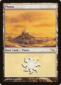 Plains (288), Magic: The Gathering, Mirrodin