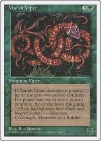 Marsh Viper, Magic: The Gathering, Fourth Edition