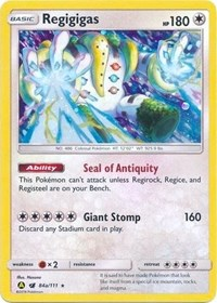 Regigigas - 84a/111, Pokemon, Alternate Art Promos