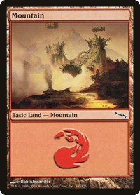 Mountain (300), Magic: The Gathering, Mirrodin