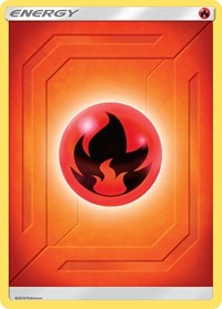 Fire Energy (2019 Unnumbered), Pokemon, SM - Team Up