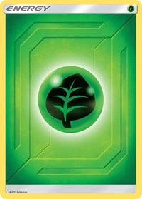 Grass Energy (2019 Unnumbered), Pokemon, SM - Team Up