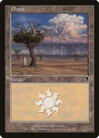 Plains (333), Magic: The Gathering, Odyssey
