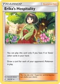 Erika's Hospitality (SM Team Up), Pokemon, Deck Exclusives