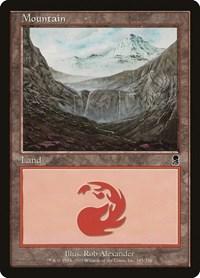 Mountain (345), Magic: The Gathering, Odyssey