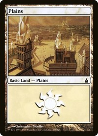 Plains (288), Magic: The Gathering, Ravnica: City of Guilds