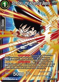 Son Goku, the Adventure Begins, Dragon Ball Super CCG, Destroyer Kings