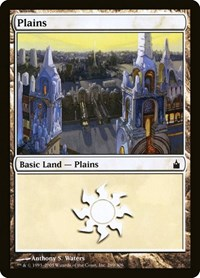 Plains (289), Magic: The Gathering, Ravnica: City of Guilds