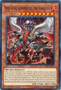 True King Agnimazud, the Vanisher, YuGiOh, Structure Deck: Soulburner