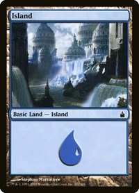 Island (291), Magic: The Gathering, Ravnica: City of Guilds