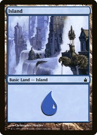 Island (292), Magic: The Gathering, Ravnica: City of Guilds