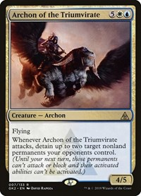 Archon of the Triumvirate, Magic: The Gathering, Ravnica Allegiance: Guild Kits
