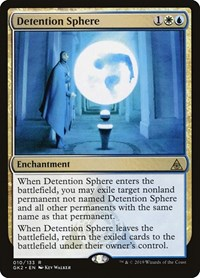 Detention Sphere, Magic: The Gathering, Ravnica Allegiance: Guild Kits