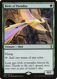 Birds of Paradise, Magic: The Gathering, Ravnica Allegiance: Guild Kits