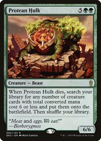 Protean Hulk, Magic: The Gathering, Ravnica Allegiance: Guild Kits