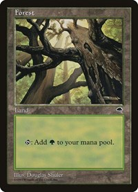 Forest (Skyward), Magic: The Gathering, Tempest