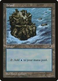 Island (Rocky Path), Magic: The Gathering, Tempest