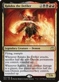 Rakdos the Defiler, Magic: The Gathering, Ravnica Allegiance: Guild Kits