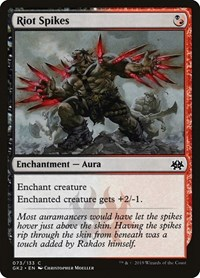 Riot Spikes, Magic: The Gathering, Ravnica Allegiance: Guild Kits