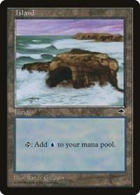 Island (Crashing Waves), Magic: The Gathering, Tempest
