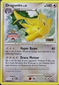 Dragonite - 2/146 (National Championship) [Staff], Pokemon, League & Championship Cards