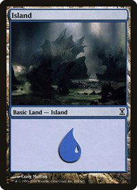 Island (288), Magic: The Gathering, Time Spiral