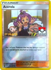 Acerola - 112a/147 (League Promo) [1st Place], Pokemon, League & Championship Cards