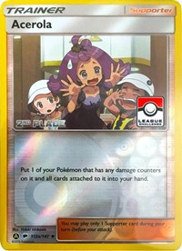 Acerola - 112a/147 (League Promo) [2nd Place], Pokemon, League & Championship Cards