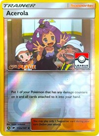 Acerola - 112a/147 (League Promo) [4th Place], Pokemon, League & Championship Cards