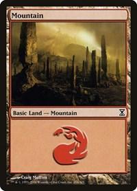 Mountain (296), Magic: The Gathering, Time Spiral